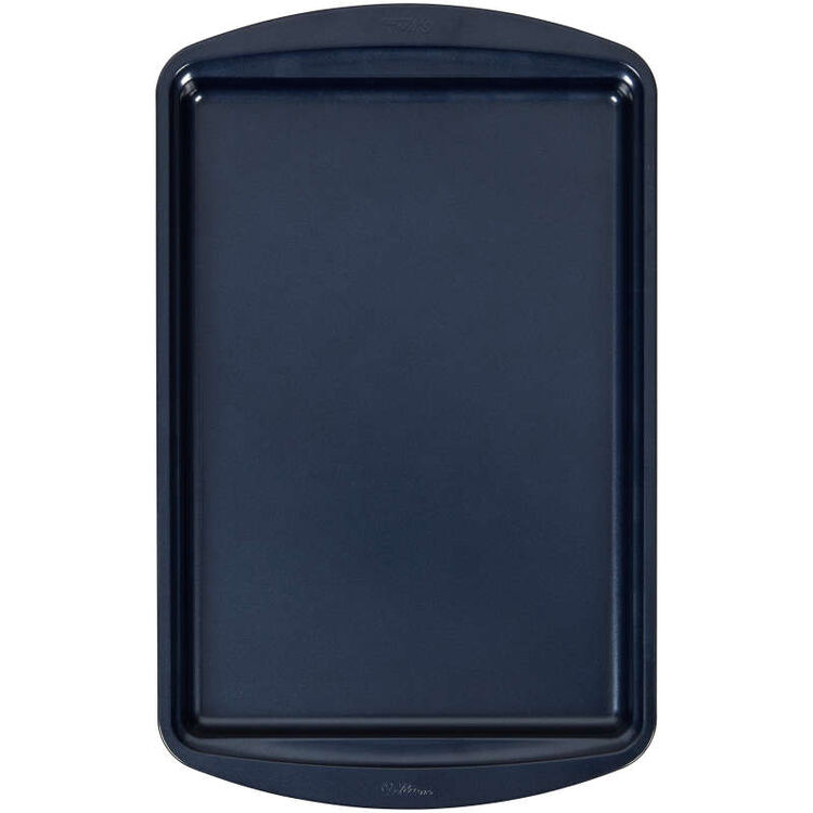 Diamond-Infused Non-Stick Navy Blue Medium Baking Sheet, 15.2 x 10.2-inch