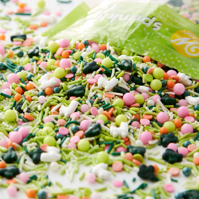 Cactus Party Sprinkles Mix, 10 oz. image number 1