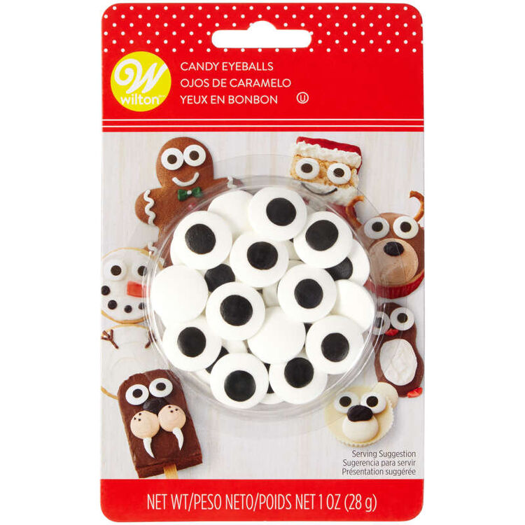 Holiday Large Candy Eyeballs, 1 oz.
