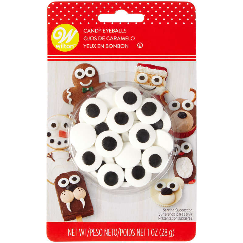 Holiday Large Candy Eyeballs, 1 oz. image number 0