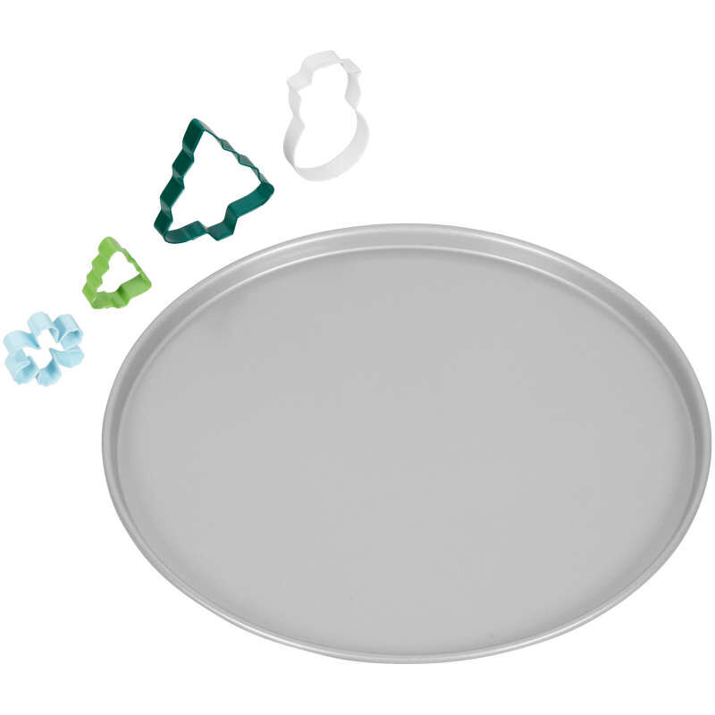 Snowglobe Giant Cookie Decorating Kit, 5-Piece image number 2