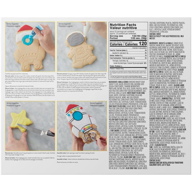 Cookie Creations Space Exploration Cookie Kit