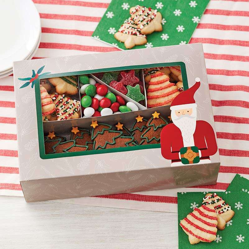 Christmas Cookie Sampler Treat Boxes, 2-Count image number 0
