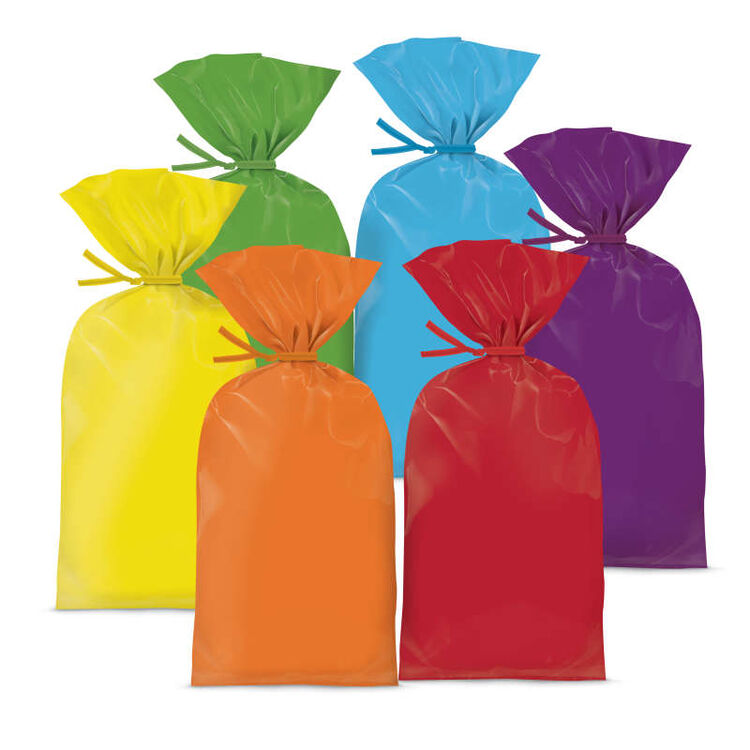 Colored Treat Bags, 30-Count