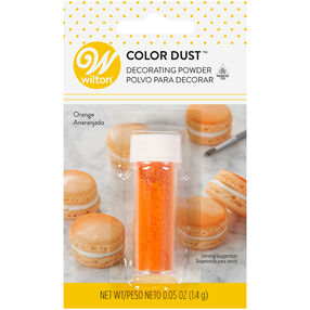 Orange Color Dust, 0.05 oz.