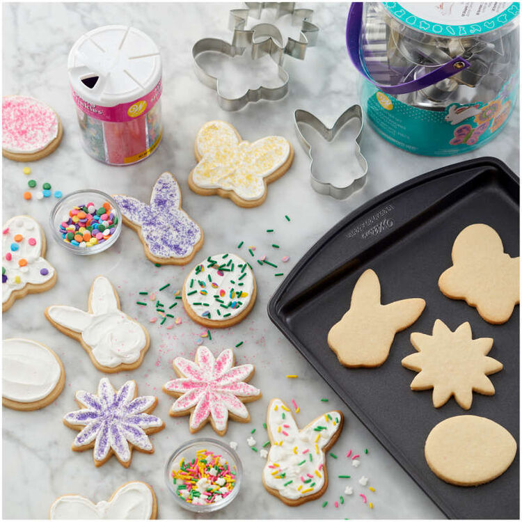 Easter Cookie Cutter Tub, 18-Count Set