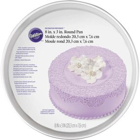 Decorator Preferred 8 x 3 Round Cake Pan