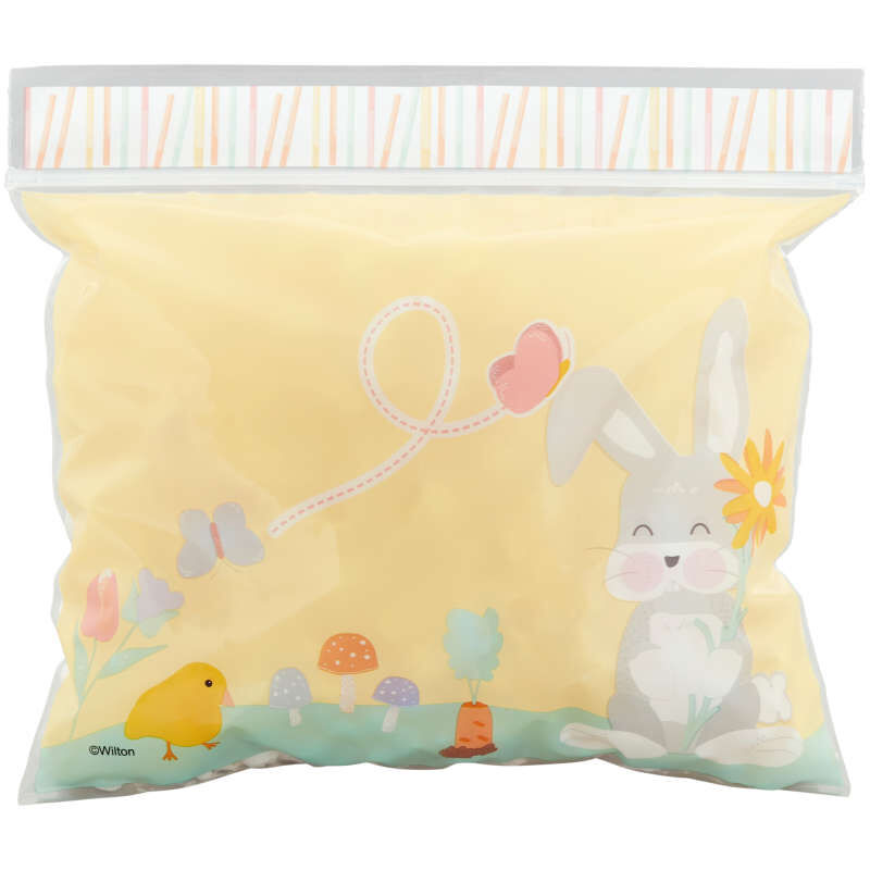 Easter Bunny Resealable Treat Bags, 20-Count image number 2