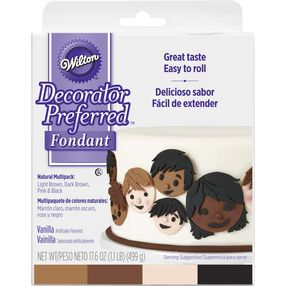 Decorator Preferred Natural Skin Tone Fondant