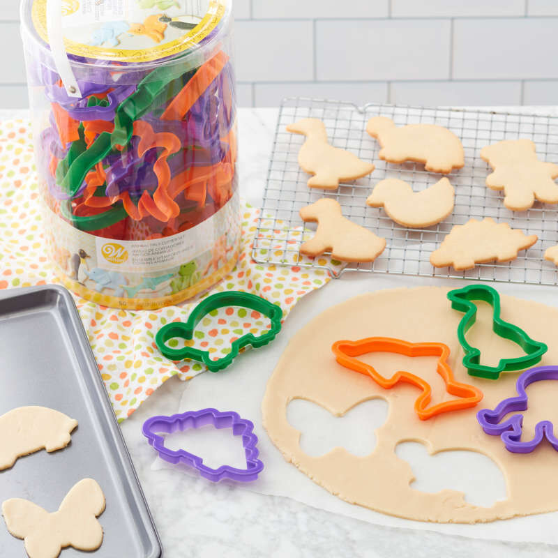 Animal Cookie Cutter Set, 50-Piece image number 3