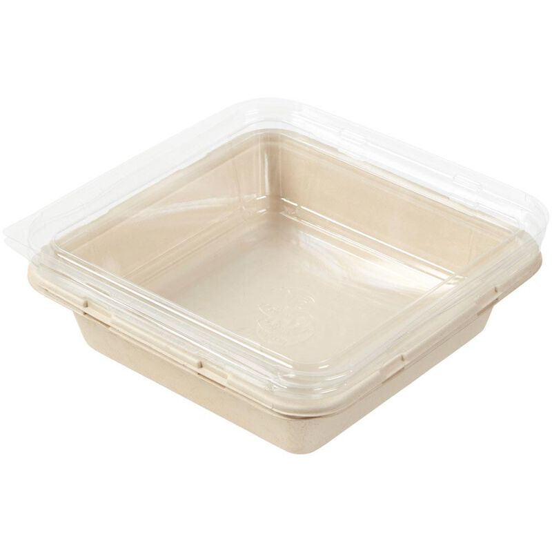 Disposable 8-Inch Square Baking Pans with Lids, 2-Count image number 3