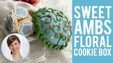 Sweet Ambs Floral Cookie Box