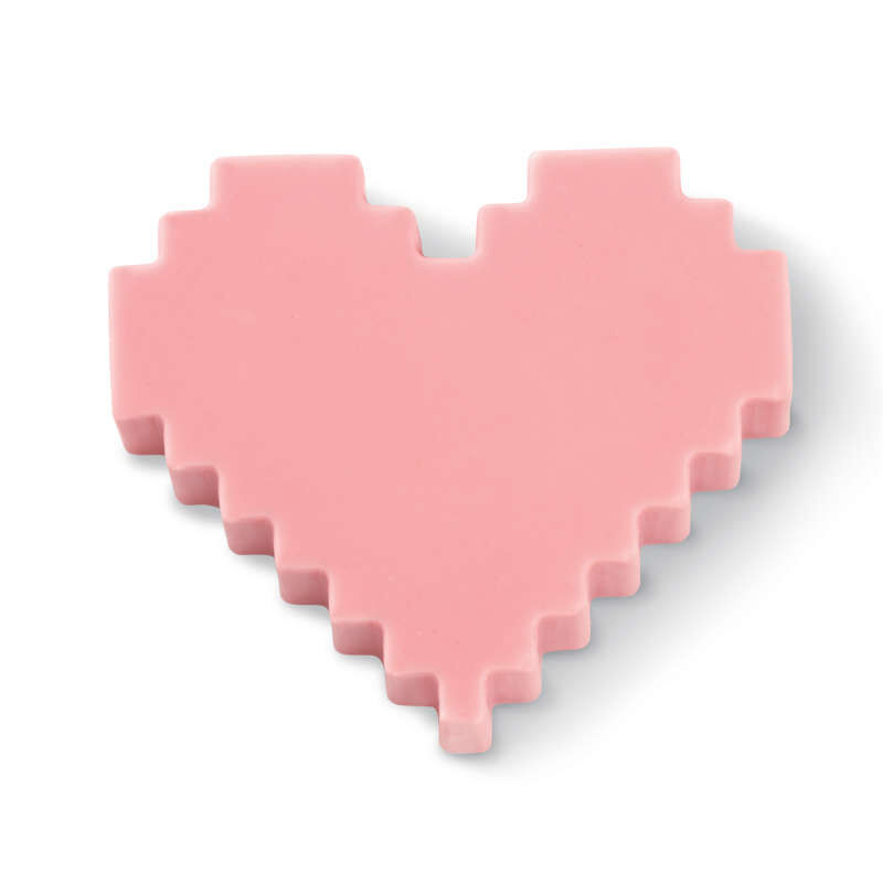 ROSANNA PANSINO by Silicone Candy Heart Mold, 12-Cavity image number 3