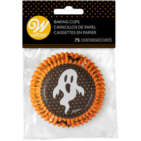 Trick-Or-Treat Cupcake Liners, 75-Count