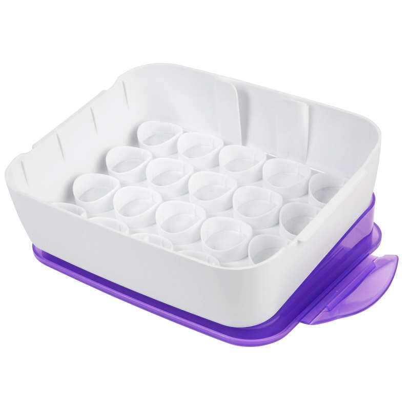 Icing Color Organizer Case - Cake Decorating Supplies image number 0