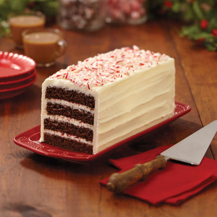 Chocolate Peppermint Layer Cake