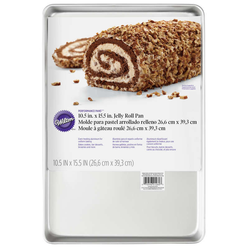 Performance Pans Aluminum Jelly Roll Pan, 10.5 x 15.5-Inch image number 1
