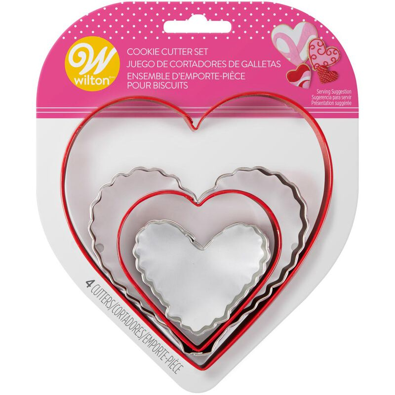 Nesting Hearts Cookie Cutter Set, 4-Piece image number 1