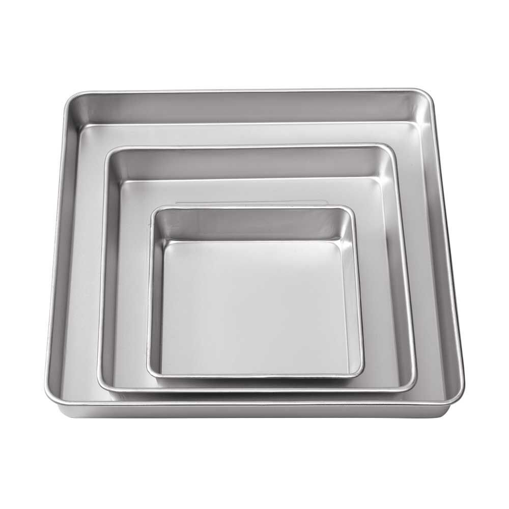 square wedding cake pans performance pans square pan set wilton 20389