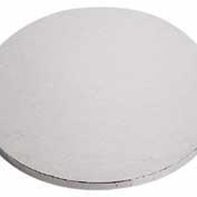 Round Silver Cake Bases image number 1