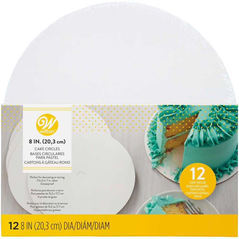 8-Inch Cake Circles, 12-Count image number 1