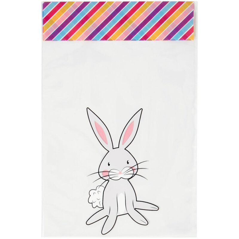 Easter Bunny Mini Treat Bags, 20-Count image number 2