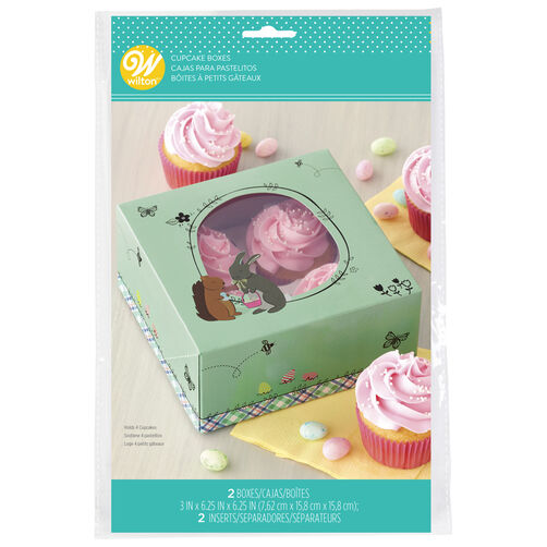 Easter Cupcake Boxes, 2-Count