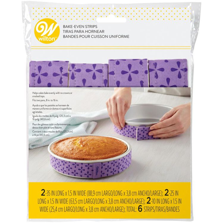 Bake-Even Strips, 6-Piece