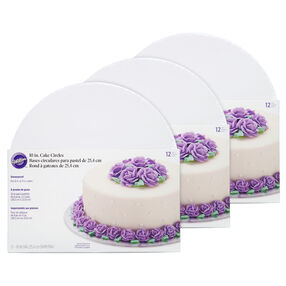 10-Inch Cake Boards, Multipack of 3