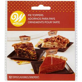 Pumpkin Pie Picks, 12-Count