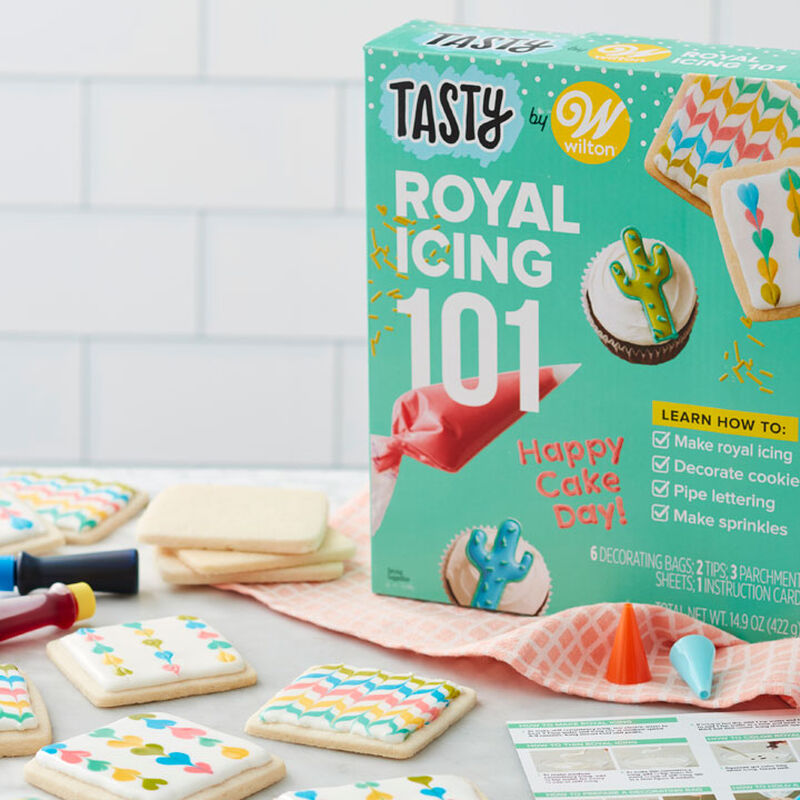 Tasty by Wilton Royal Icing 101 Kit