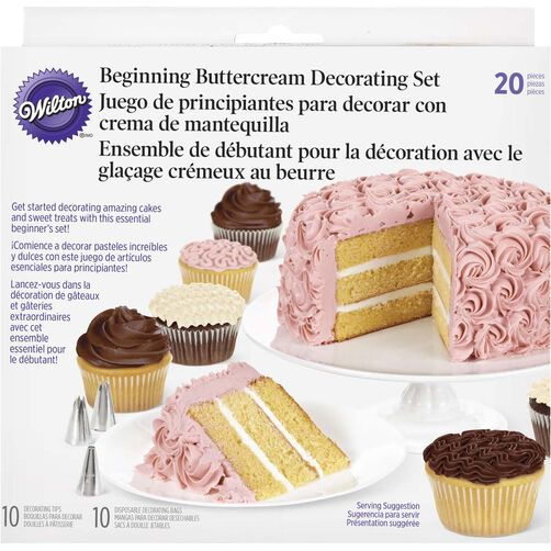 Make Your Cake Beautiful Icing Starter Set Wilton