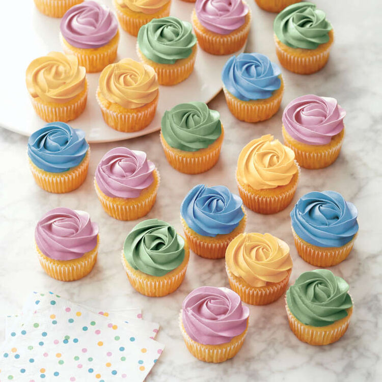 Garden Tone Icing Colors, 4-Count