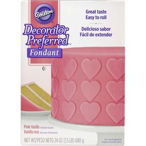 Decorator Preferred Pink Fondant