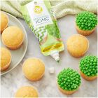 Green Icing Pouch with Tips, 8 oz.