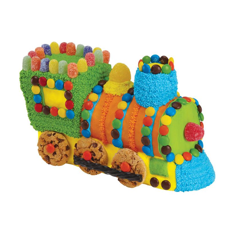 Train Cake Pan, 2-Piece Kids Birthday Cake Pan image number 3