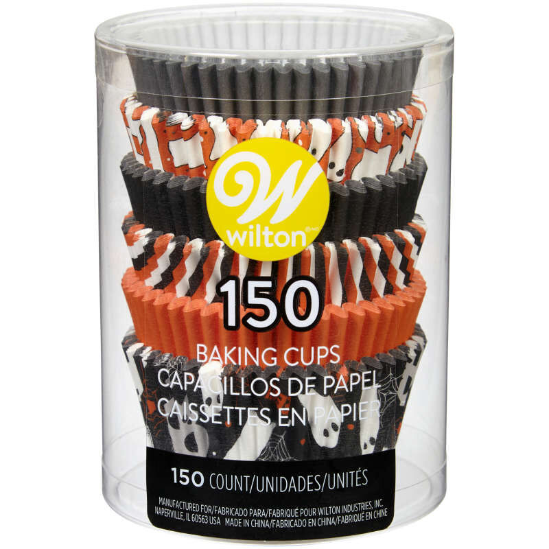 Halloween Ghost Assortment Cupcake Liners, 150-Count image number 1