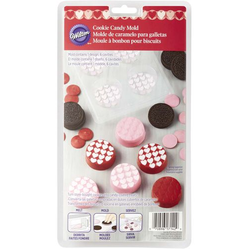 Mini Hearts Cookie Candy Mold