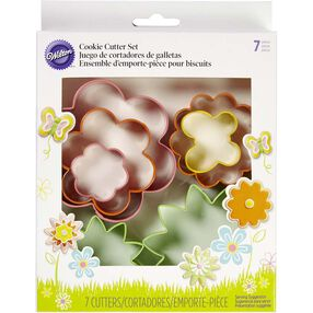 Flower Garden Cookie Cutter Set