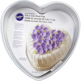 Wilton Cake Pans - Decorator Preferred 8 x 2 Heart Cake Pan