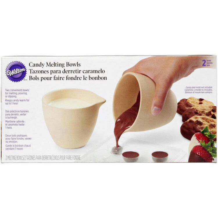 Ceramic Candy Melting Bowls, 2-Count