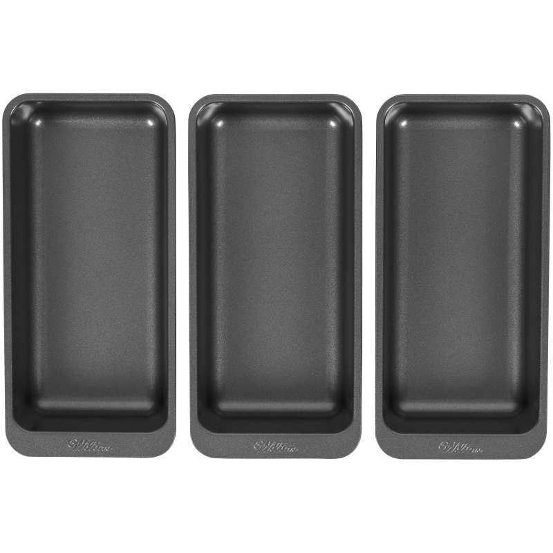 Perfect Results 8 x 4-Inch Premium Non-Stick Baking Pan Set, 3-Piece image number 0