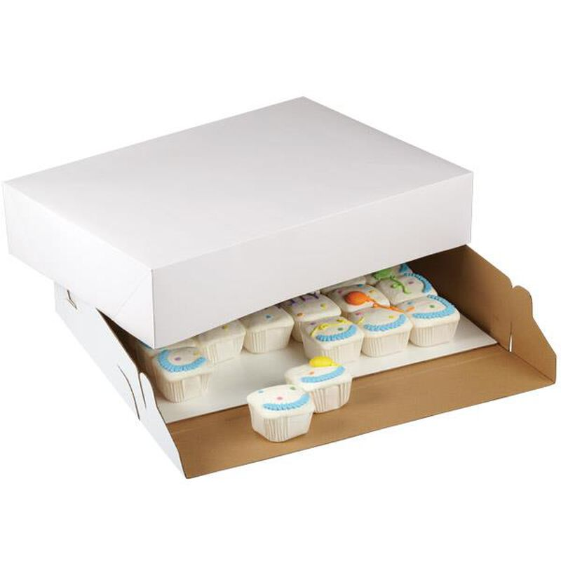 19 x 14 Cardboard Cake Box, 2-Count image number 0