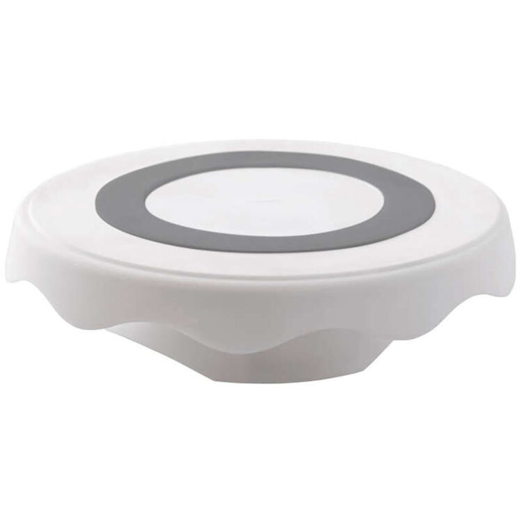 High and Low Spinning Cake Turntable Stand, 12.7 in.