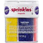 Assorted Color Nonpareils Sprinkles, 6-Colors