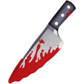 Halloween Bloody Knife Icing Decoration
