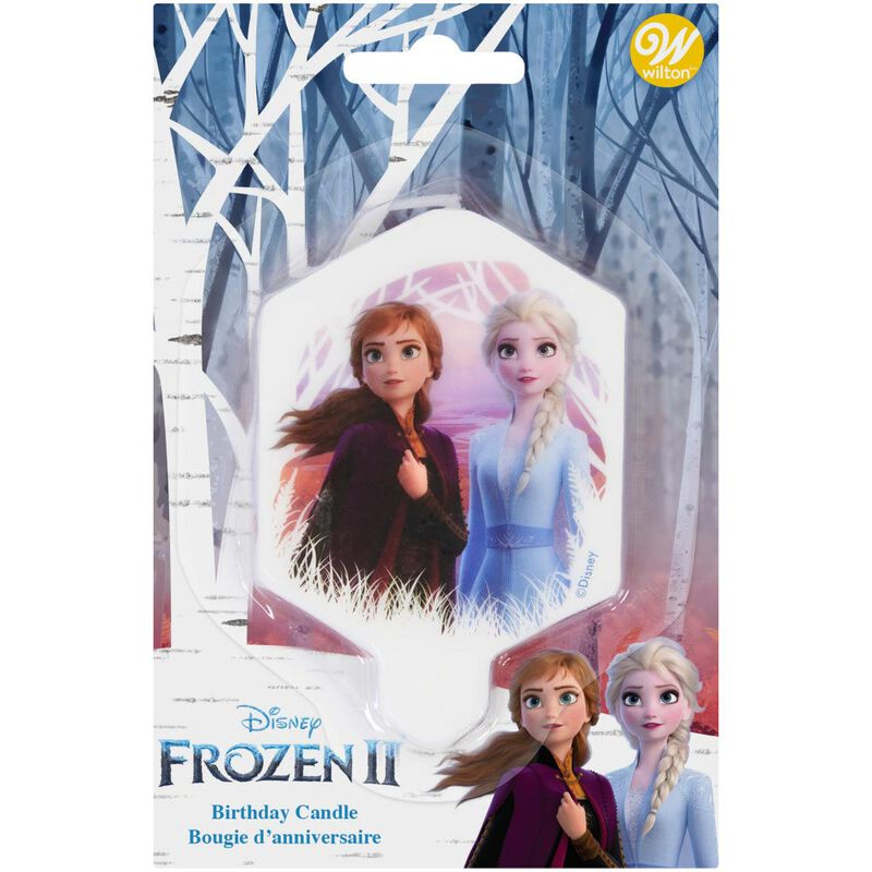 Disney Frozen 2 Birthday Candle image number 1