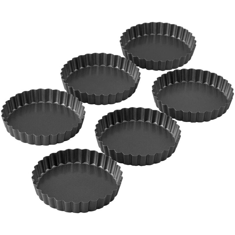 Perfect Results Non-Stick Tart Pan Set, 6-Piece image number 3