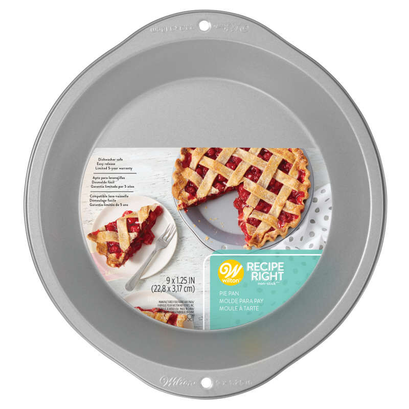 Recipe Right Non-Stick Round Pie Pan, 9-inch image number 0