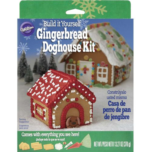 Gingerbread Doghouse Decorating Kit